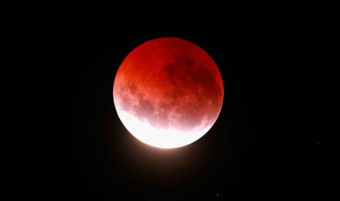Shalat Gerhana Blue blood moon di Assunnah dihadiri lebih dari 400 orang.