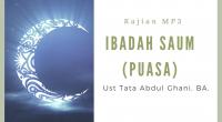 """Kajian : Islam Pedia Pembahasan: """"Ibadah Saum (Puasa)"""". Pemateri : Ust Tata Abdul Ghani, BA. Durasi : 00:38:17. Ukuran File : 15,03MB. Download : Klik Disiniatau klik tombol download pada […]"""