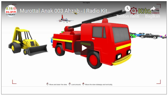 Murottal Anak 003 Ahzab – | Radio Kita FM Cirebon | Alternatif Kartun Jaman Now.