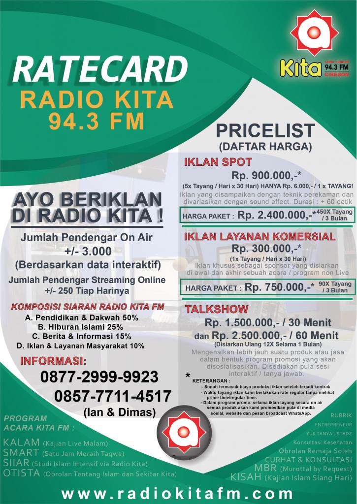 RATECARD IKLAN RADIO 2 fix ok