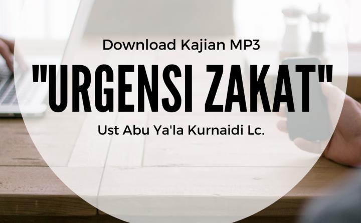 -Urgensi Zakat- (1)