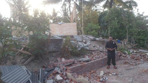 ARTVISI Peduli Korban Gempa Lombok.