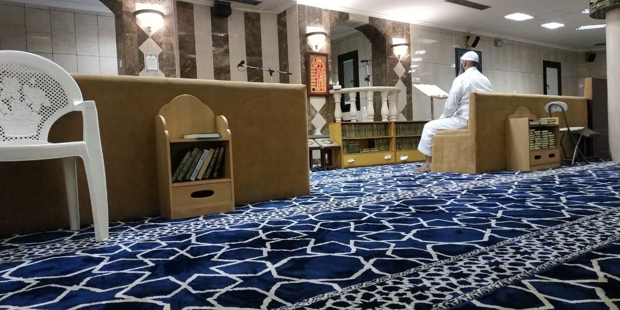 Di Masjid Saudi,Shaf Pertama ada Kursinya