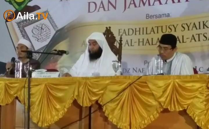 (Dokumentasi) Tabligh Akbar – Perbedaan Antara Ahlussunnah wal Jama'ah dengan Jama'ah Takfir – Syeikh Ali Hasan Al-Halaby