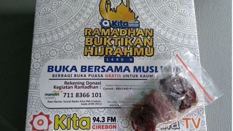 Masya Allah, Ternyata Ini Menu Buka Puasa yang Dibagikan Oleh Radio Kita FM Cirebon