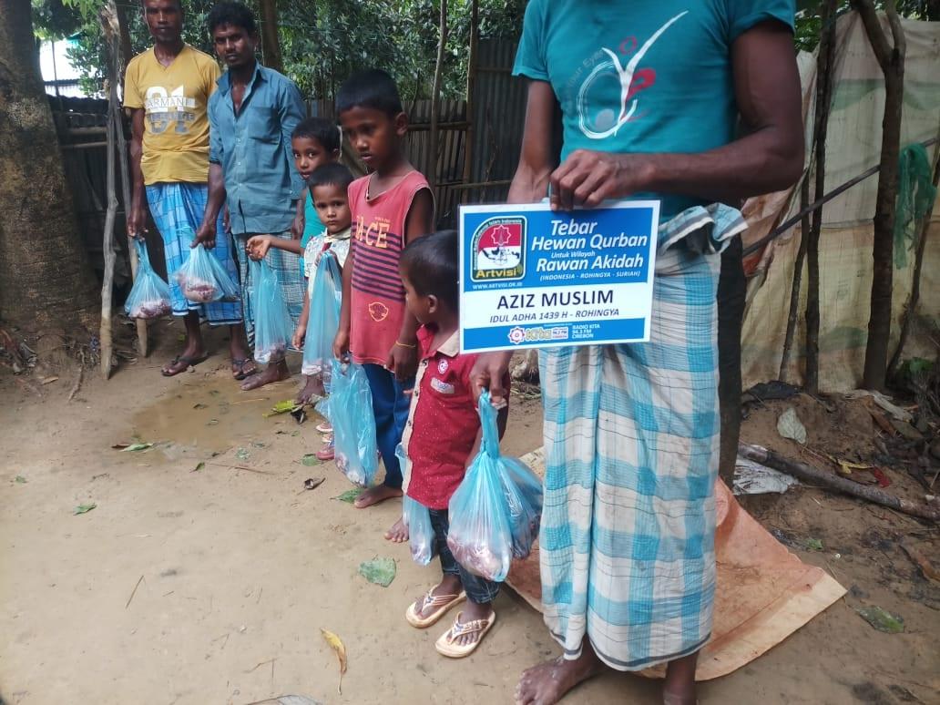 Dokumentasi Kurban Untuk Saudara Muslim Rohingya Kita di Bangladesh