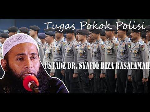 """Tabligh Akbar """"Tugas Pokok Polisi """" Pemateri Ustadz Syafiq Riza Basalamah"""