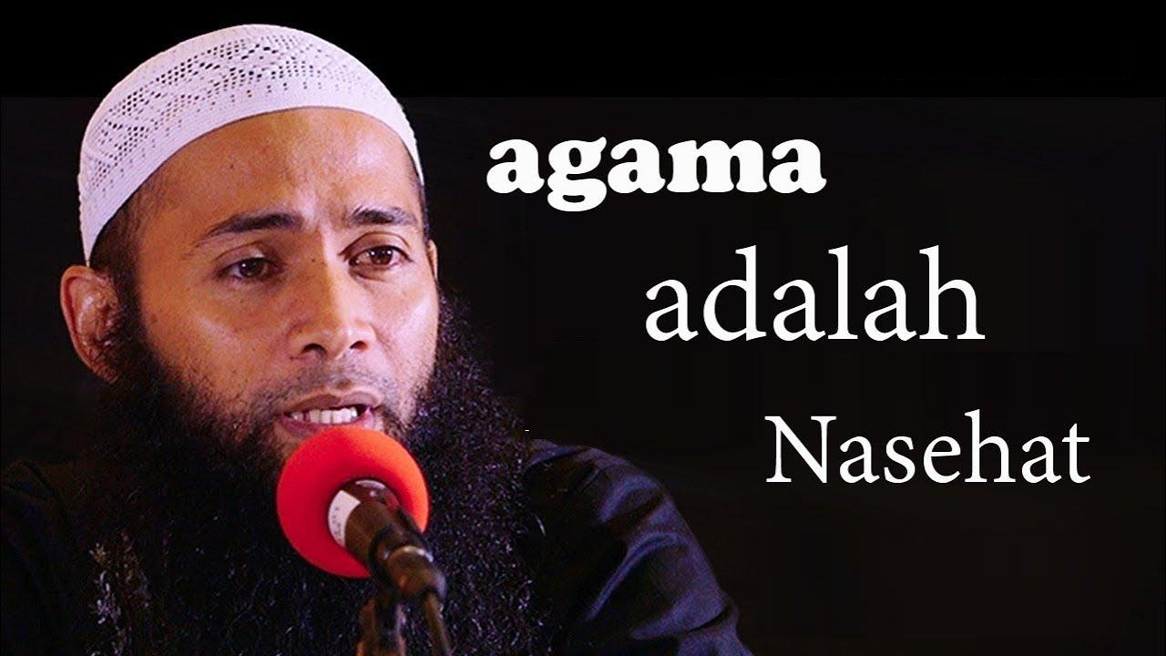 """Tabligh Akbar """" Agama Adalah Nasihat """" Pemateri Ustadz Syafiq Riza Basalamah"""